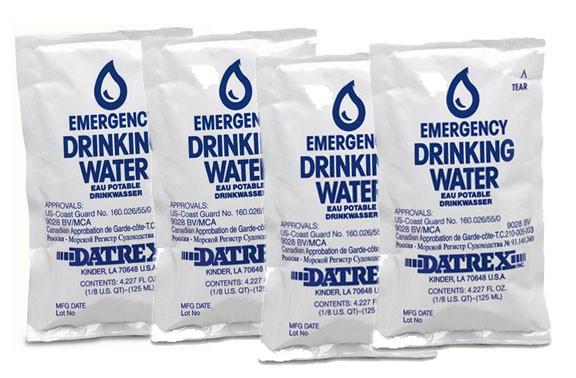 emergency drinking water