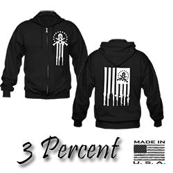 3 Percent Hoodie