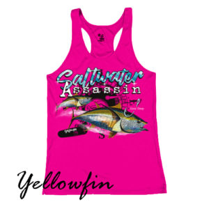 Saltwater Yellowfin Tank